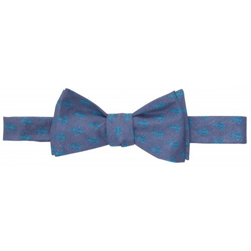 Anchors Up Bow: Navy / Atlantic